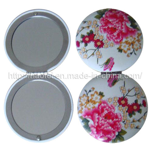 Round Metal Cosmetic Mirror (MPM0015)