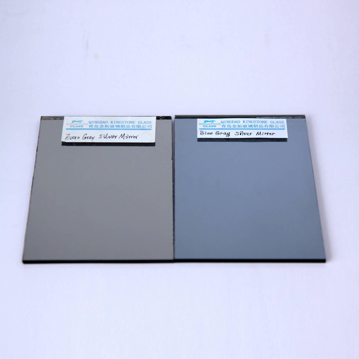 Euro Gray and Blue Gray Silver Mirror at 3mm-6mm