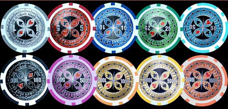 ultimate poker chips