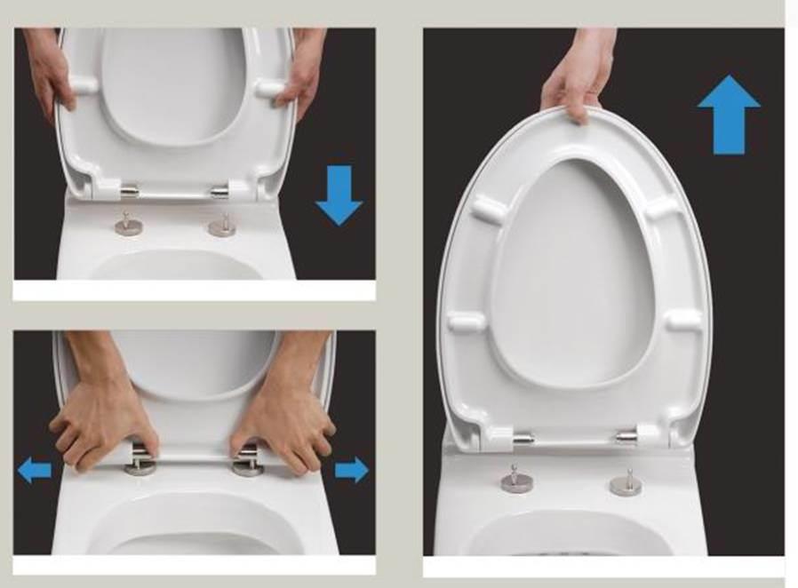 China Urea Soft Close Toilet Seat Cover Quick Release China Urea Toilet S