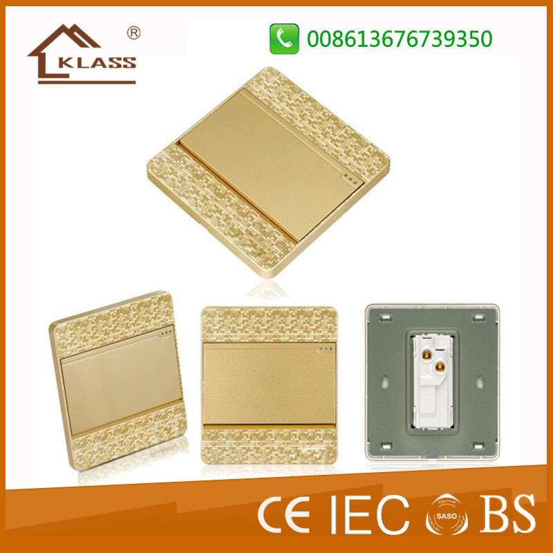 Wenzhou Factory UK and Us Design Wall Socket and Switch