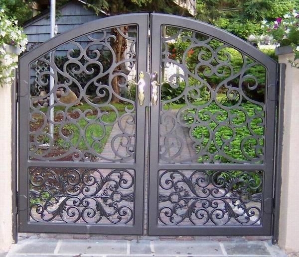 China wrought iron gate
