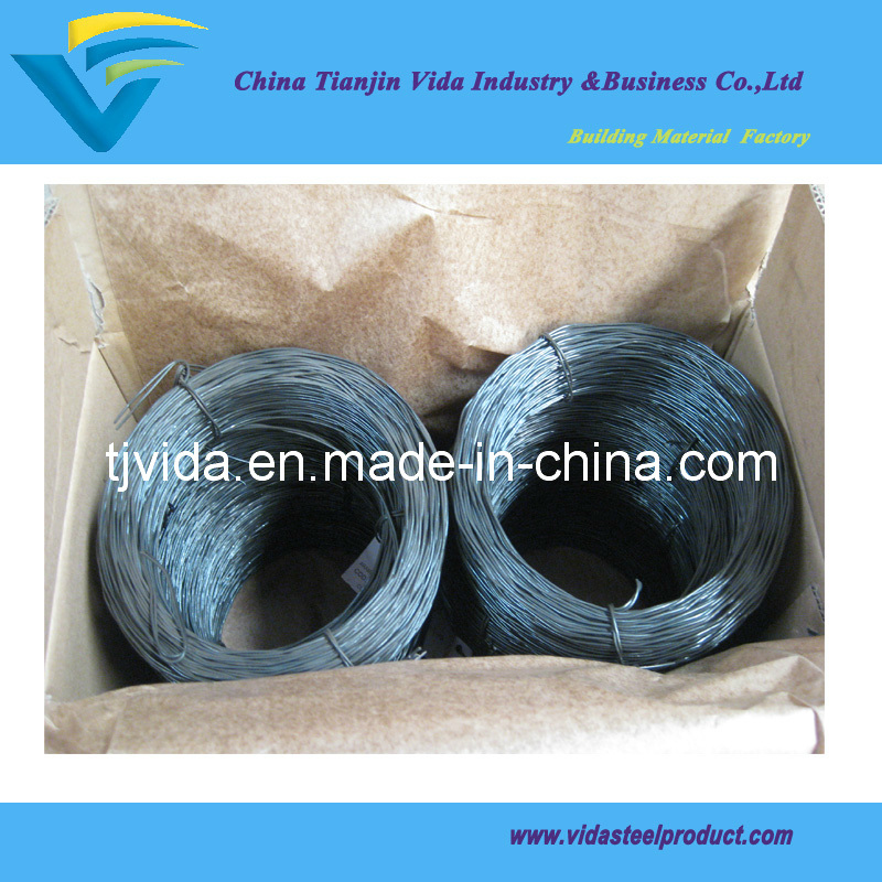 Double Twisted Black Annealed Wire (BWG4-BWG36)