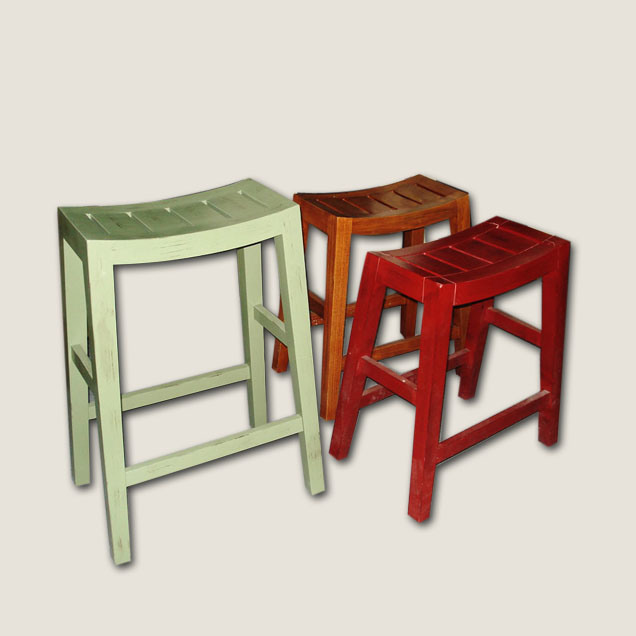 China Solid Wood U Shape Bar Stool Cbi Fi 12 China
