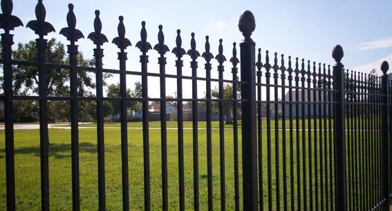 Wrought Iron Fence 1