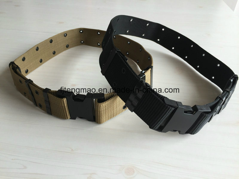 Military Belt with Plastic Buckle