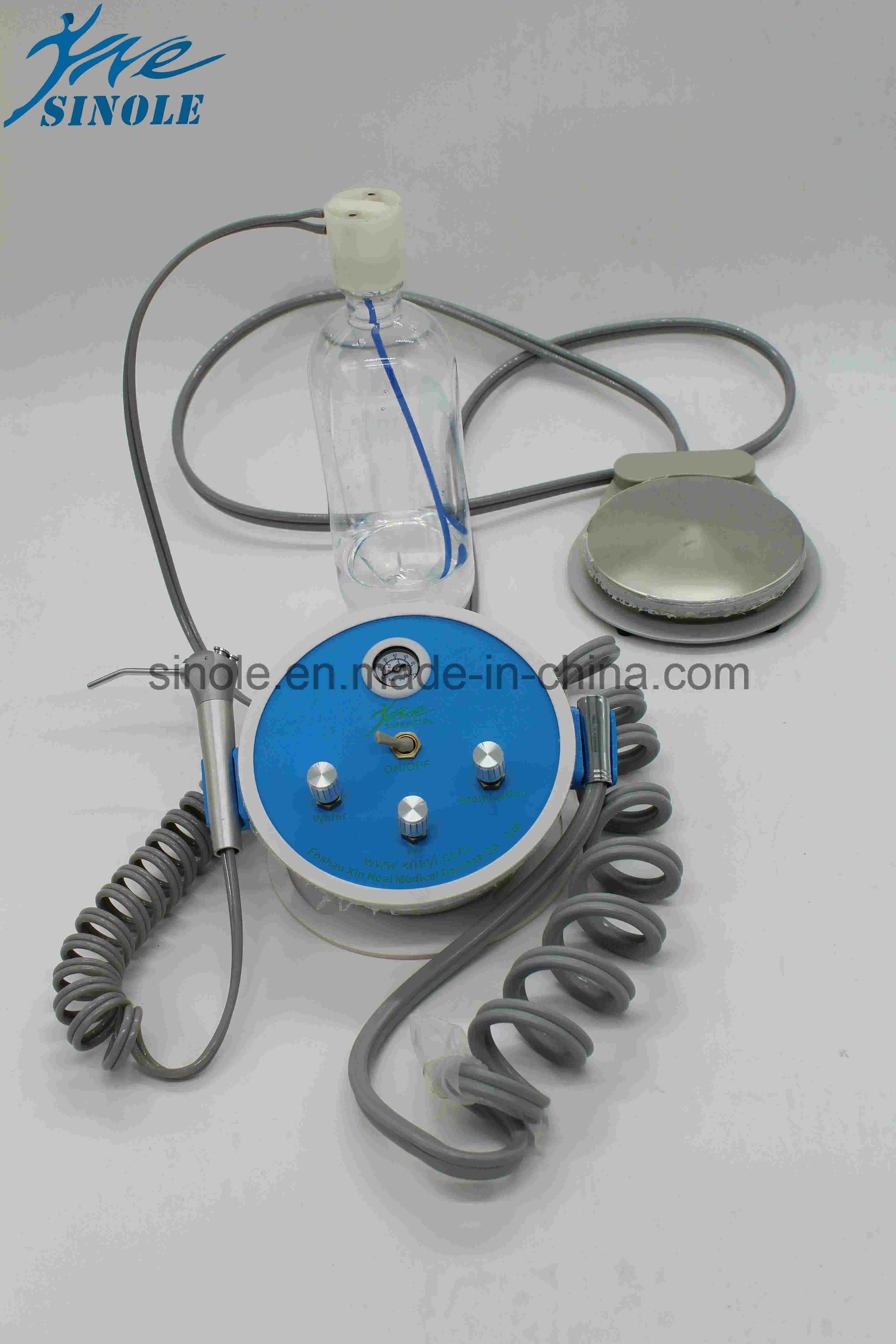Plastic Portable Dental Unit with Syringe (7-01)
