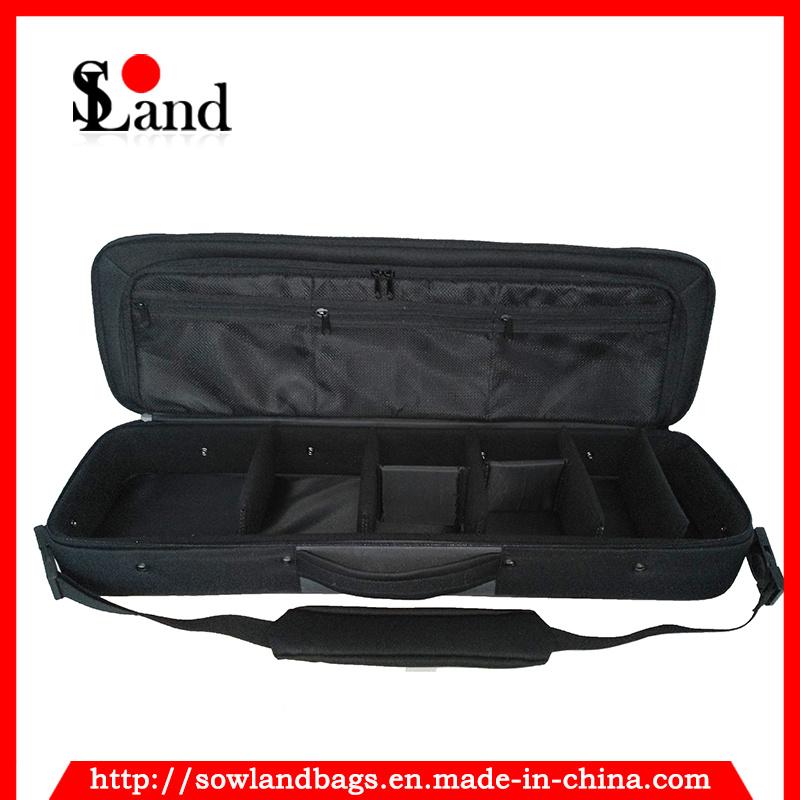 Black Polyester Fishing Tackle Tool Bag
