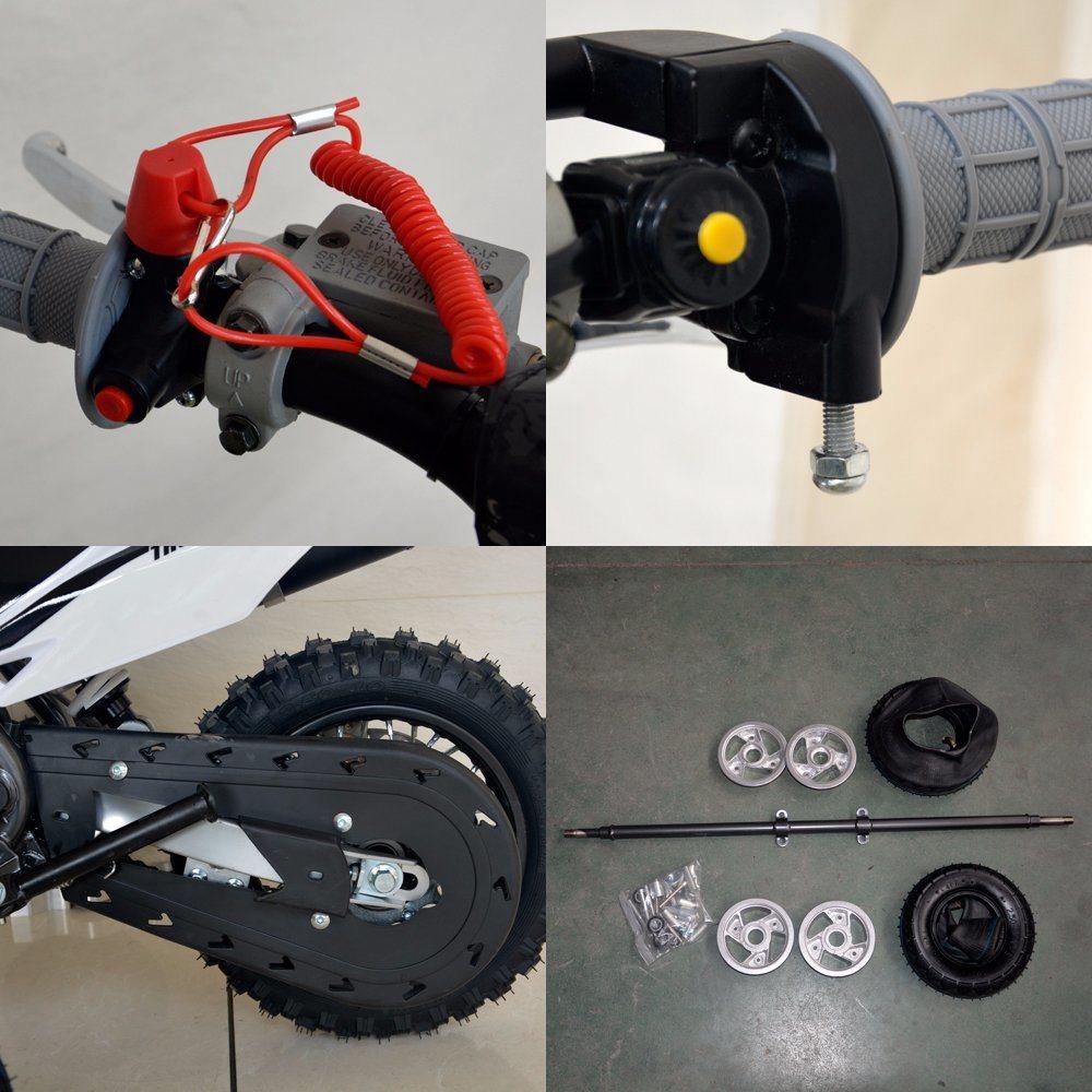 Newest Mini Size Kids Gas Dirt Bike 50cc
