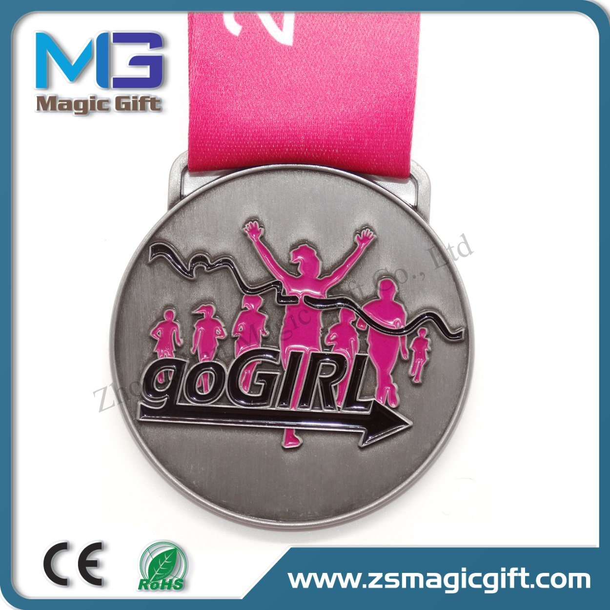 Promotional Cheap Metal Crafts Souvenir Medal Gift