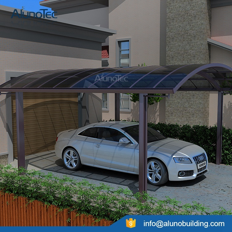 Modern Durable Aluminum Polycarbonate Car Garage Carport