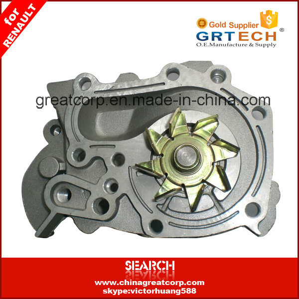 7701633125 China Top Quality Auto Water Pump for Renault