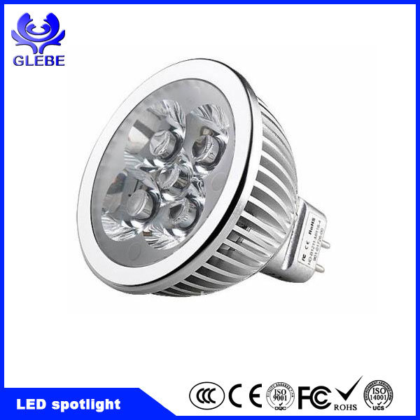 AC120V 230V Driverless 6W AC COB GU10 LED 2700k Dimmable LED Spot Light