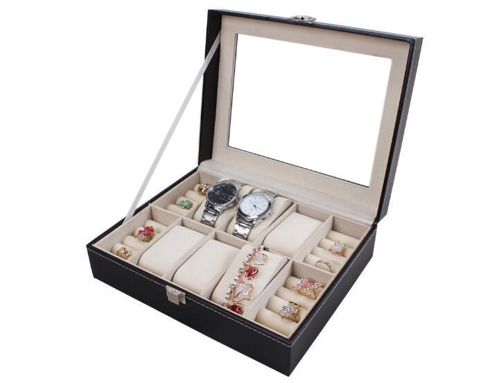 Watch Box Glass Box Jewelry Box Leather Box for Storage and Display