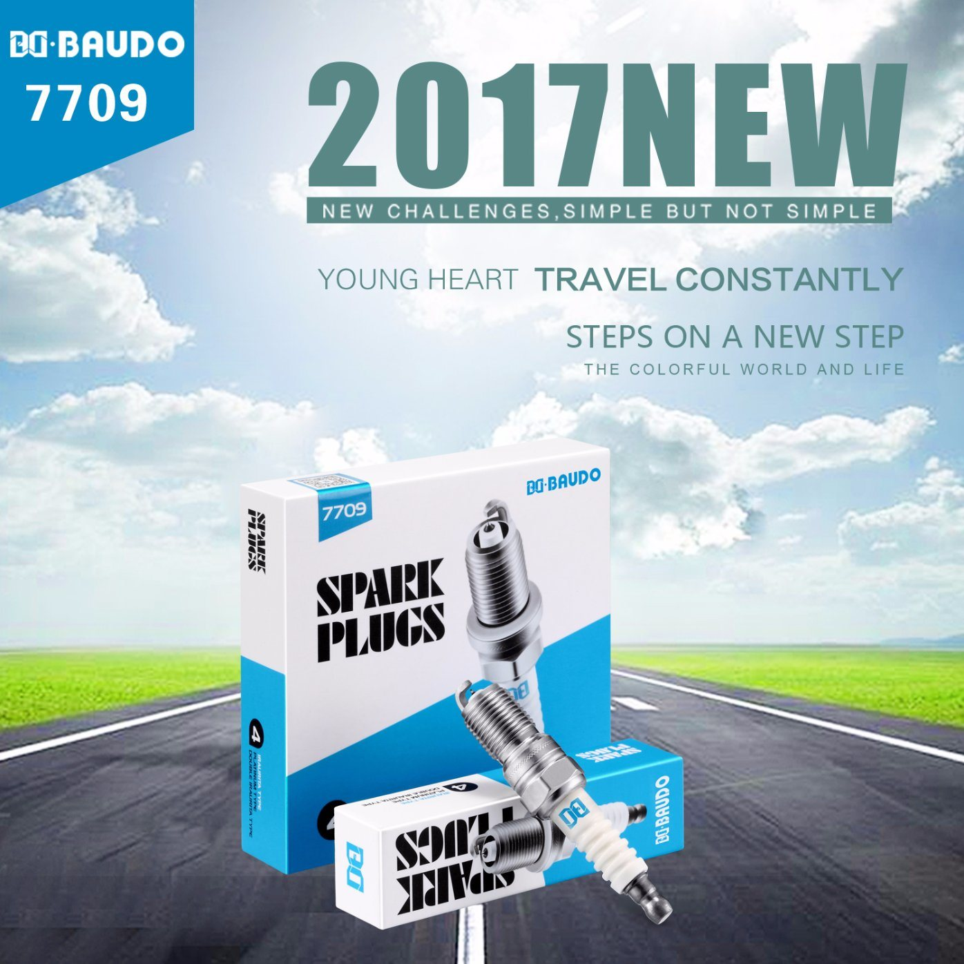 Bd 7709 Iridium Spark Plug Fuel Saving Ignition System Replace Original Ngk Itr6f-13
