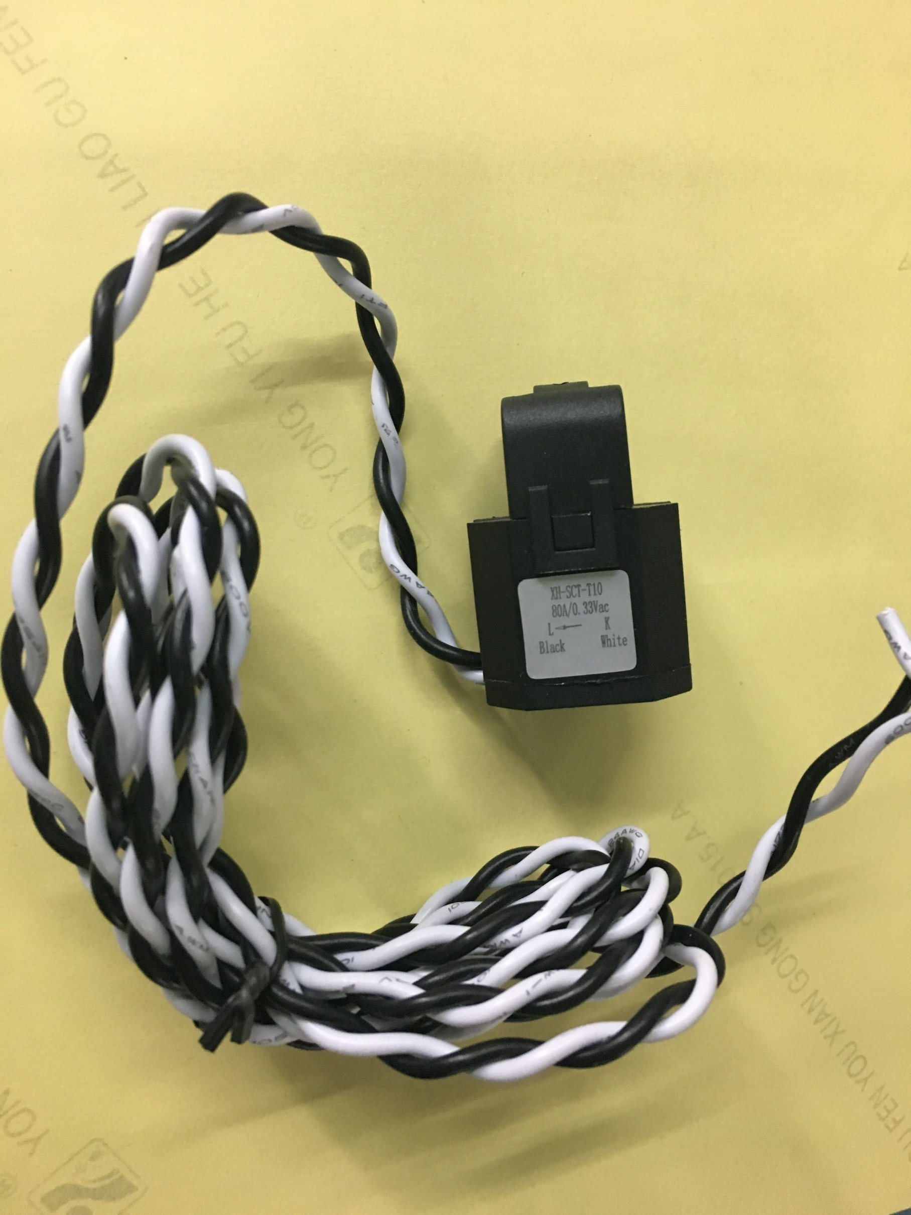 Split Core Current Transformer 10mm 80A/0.333V