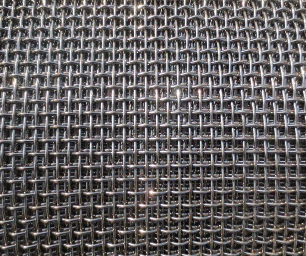 Stainless Steel Crimped Wire Mesh, Mining Screen Mesh, Wire Mesh