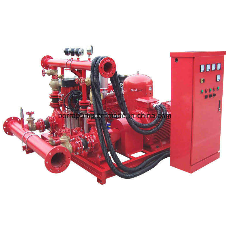 Water Supply Fire Fighting Diesel Electric Jockey Fire Firghting System Pump