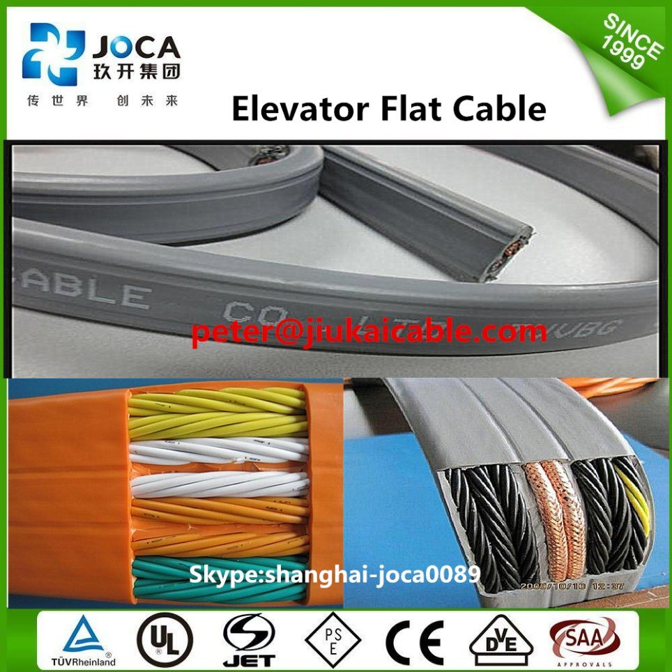 China Elevator Travelling Cable for Elevator Lifting Controlling ...