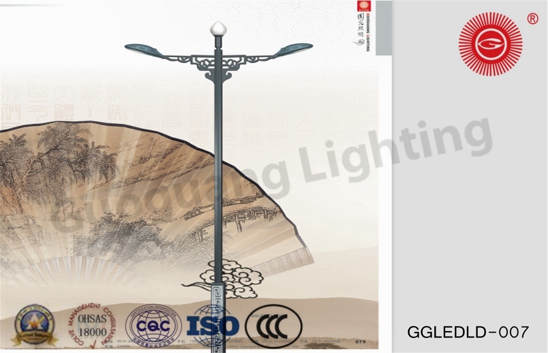 Ggledld-007 Patent Design IP65 High Quality 6m-12m LED Street Lights