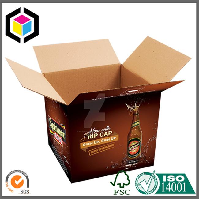 Custom Color Made Corrugated Paper Shipping Carton Box