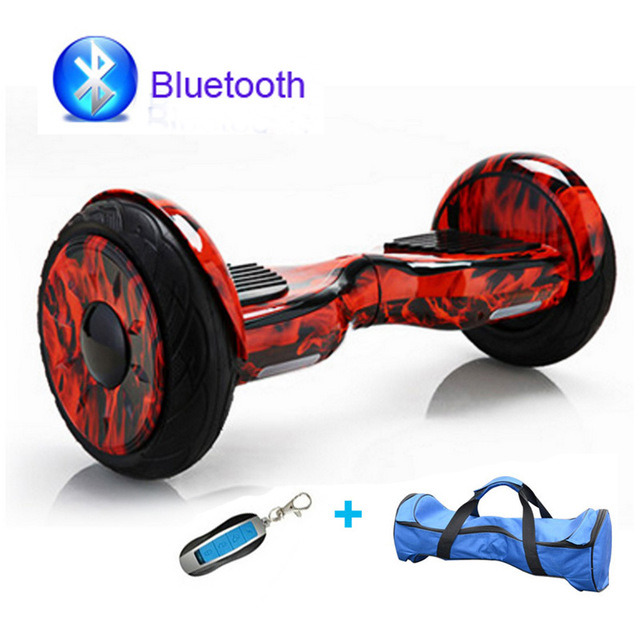 Remote Control Hoverboard 10inch Electric Self Balance Scooter Electric Hoverboard Bluetooth Electric Scooter Electric Skateboard