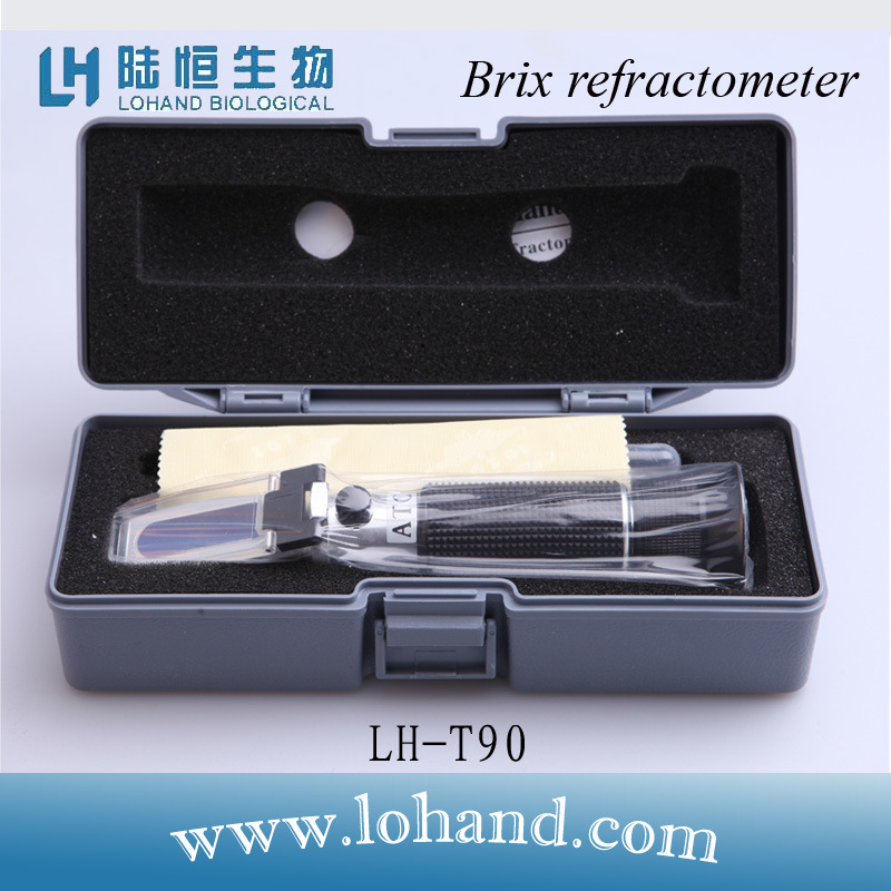 High Accuracy Traditional Refractometer with Competitive Price (LH-T90)