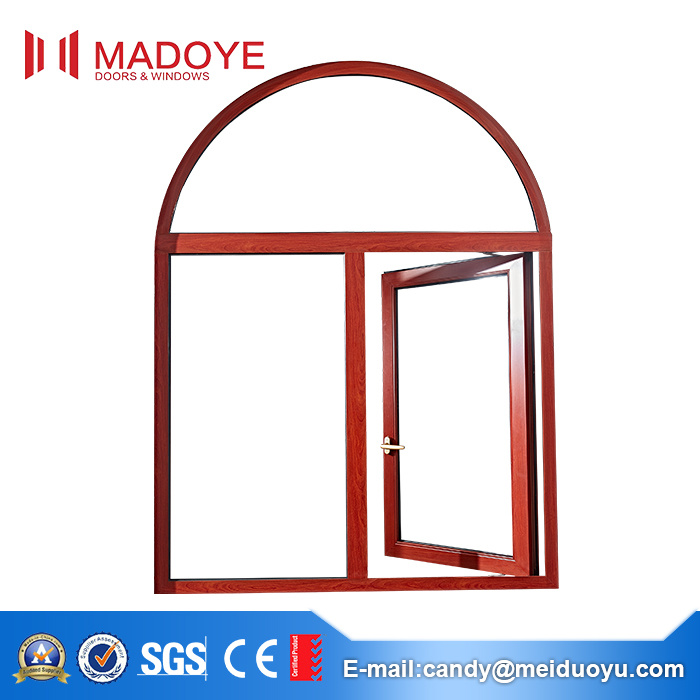 1.4mm Thick Aluminum Profile Casement Glass Windows