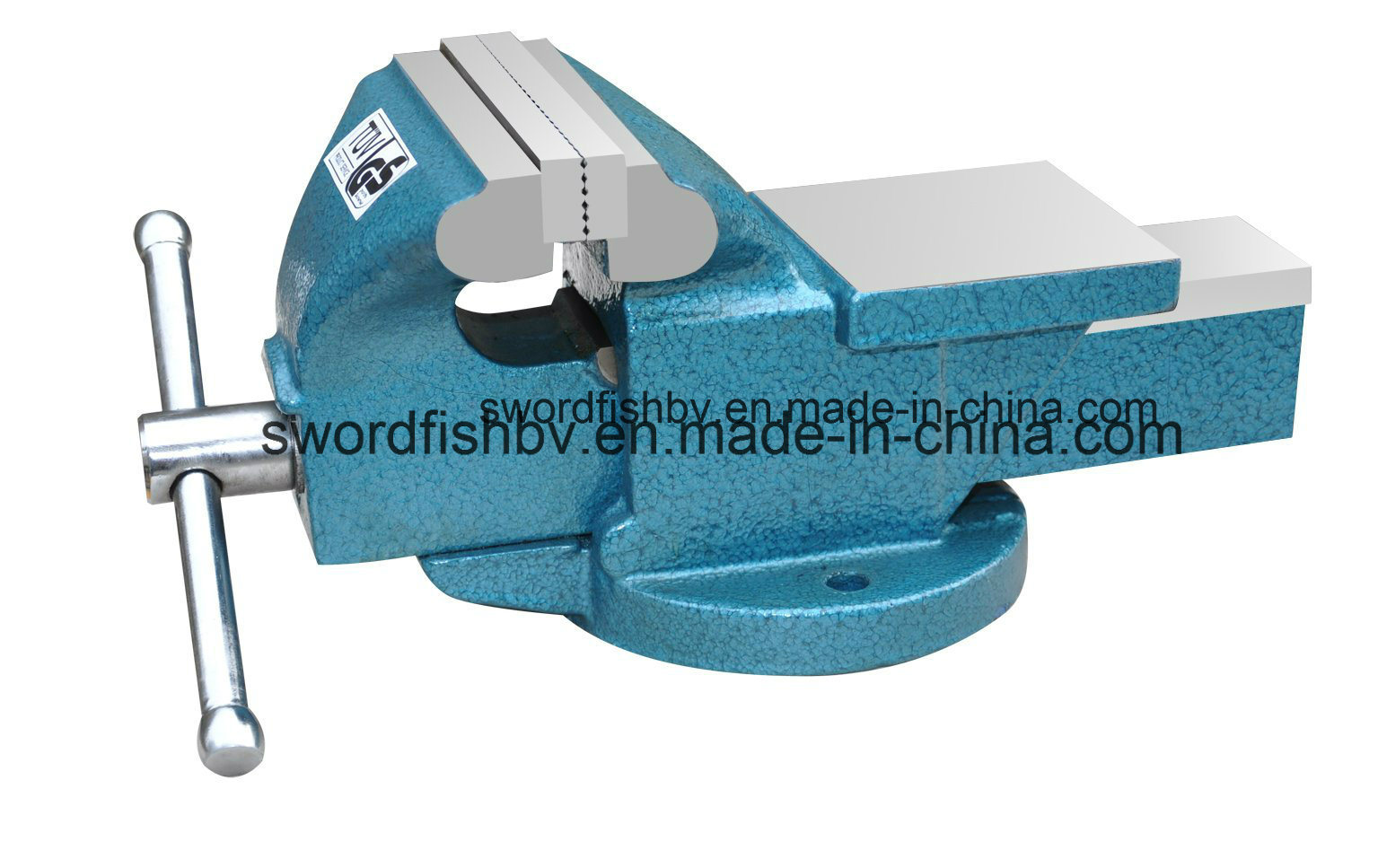 Swordfish Light Duty Bench Vise Fixed with Anvil