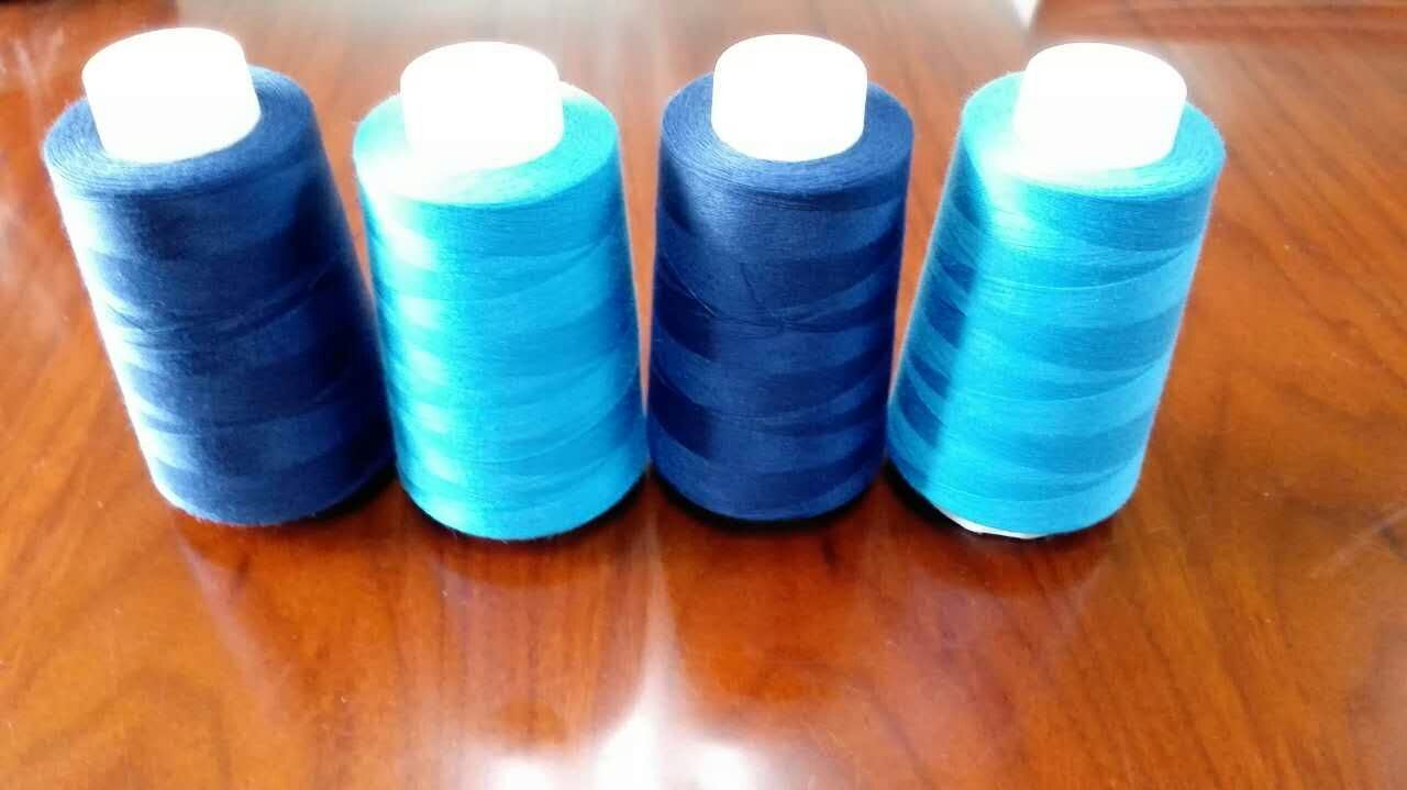 Favourable Price High Tenacity Polyester Sewing Thread in Various Colors