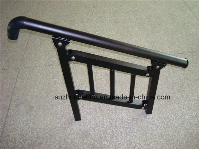 Akzo Nobel Powder Coated Custom Decorative Stair Handrail