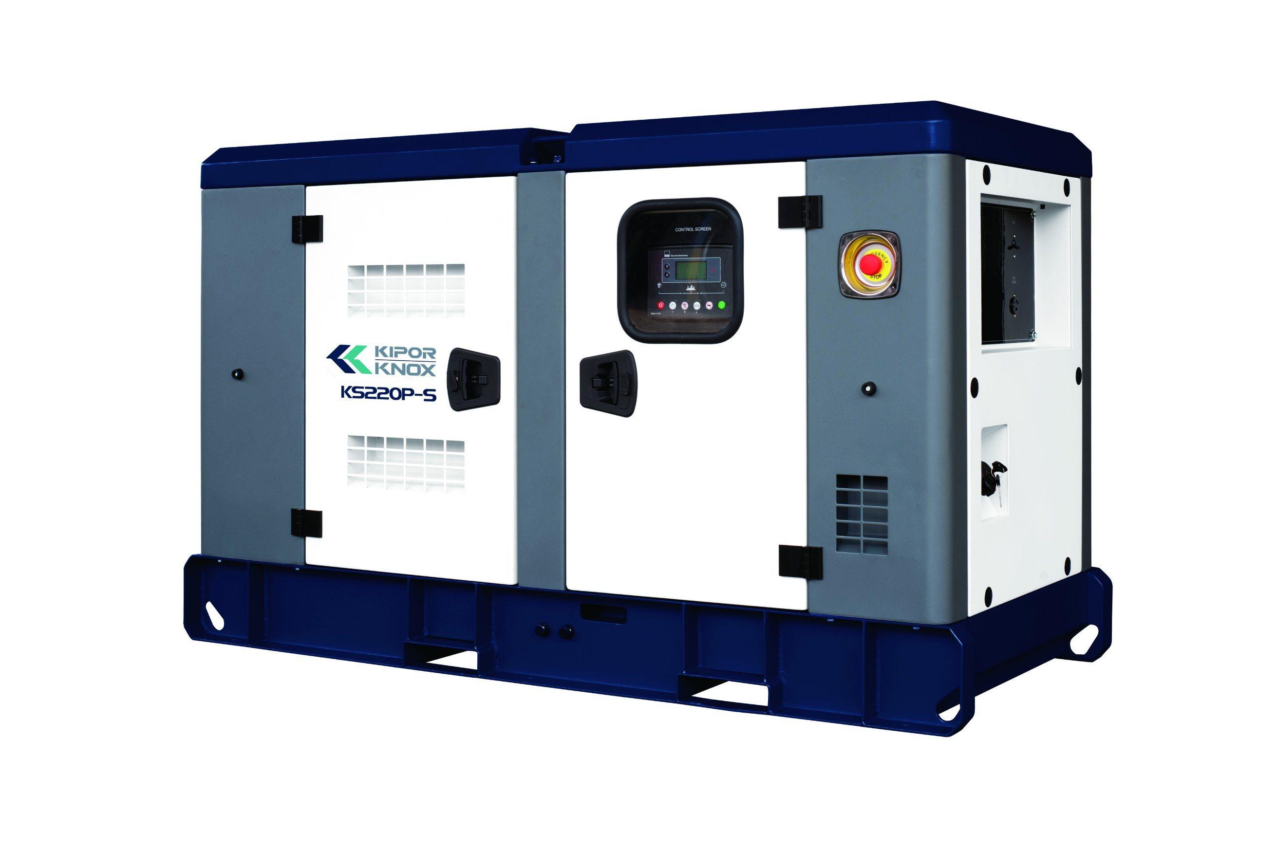 Kipor/Knox Perkins Engine Stamford Alternator Dse Control Diesel Generator Ks220p-S
