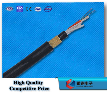 ADSS All Dielectric Self Support Aramid Yarn 200m Span Single Mode Optical Outdoor Fiber Optic Cable