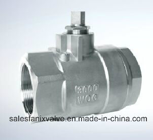 2PC Type of Ball Valve with Internal Thread 2000wog