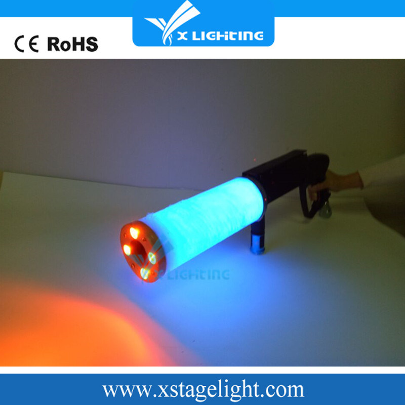 CO2 Gun RGB Color LED CO2 Gun DJ Stage Equipment