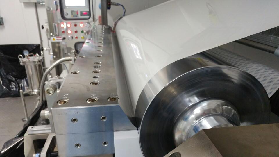 Silicone Adhesive Film Coating Machine, Film Lamination Machine
