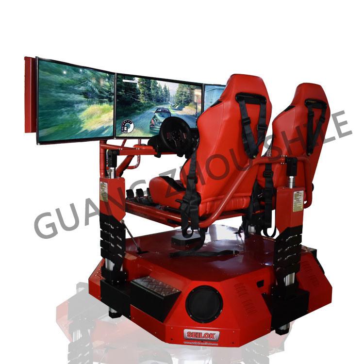 Motion Racing Car Simulator Amusment Game Car