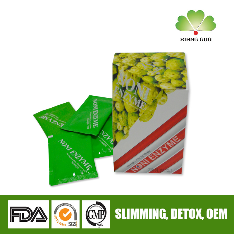 300g OEM / ODM Noni Slimming and Weight Loss Fruit Drink Powder