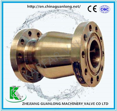 Stainless Steel Venturi Nozzle Axial Flow Non Return Check Valve