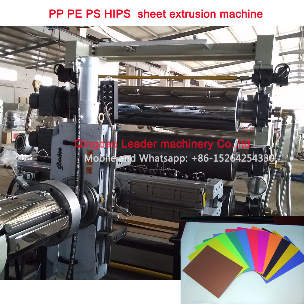 PP PE PS HIPS Sheet Extrusion Machine