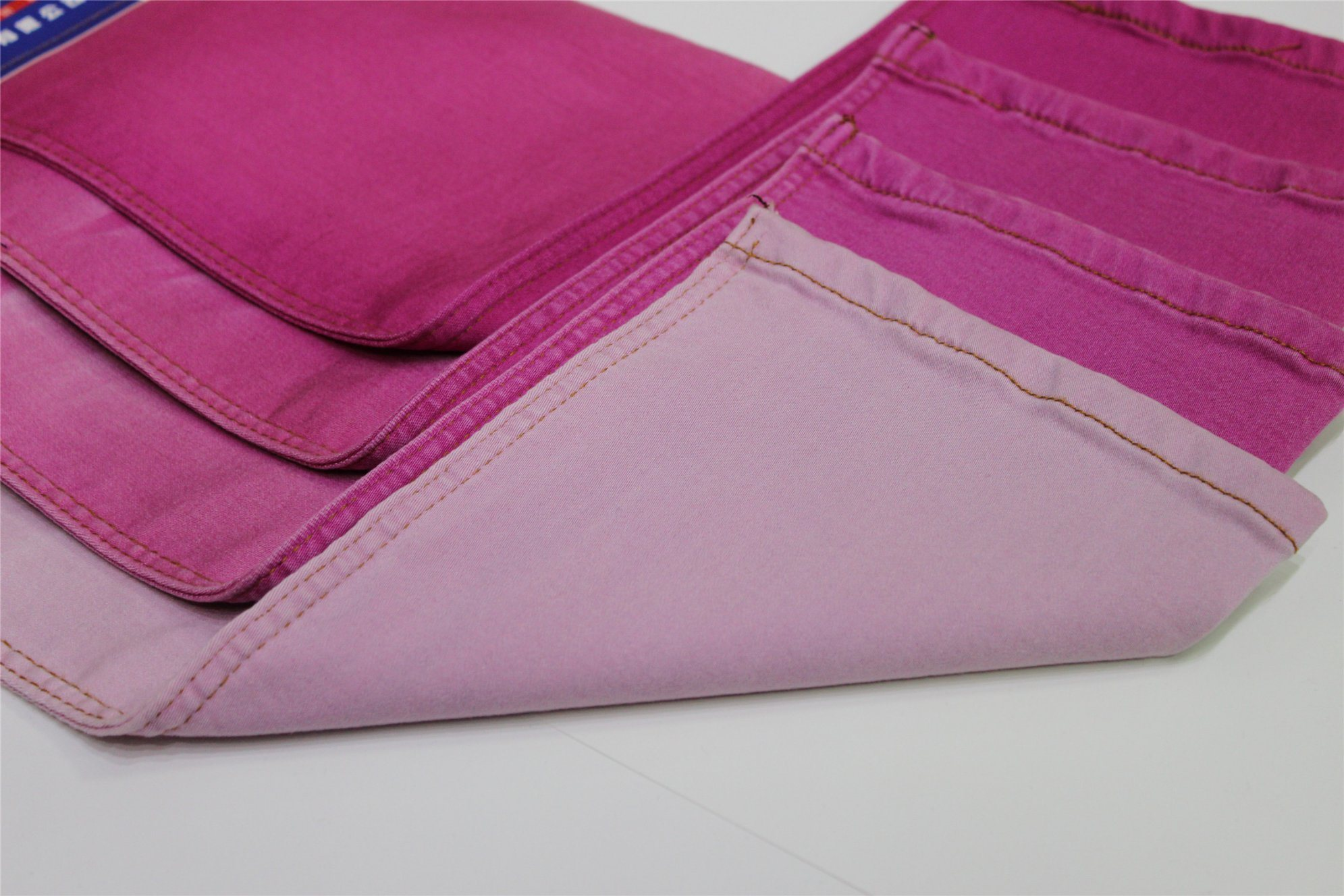 Cotton Polyester Spandex Color Denim