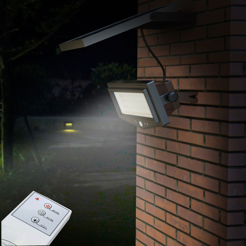 10W Remote Control Solar PIR Security Light IP 65