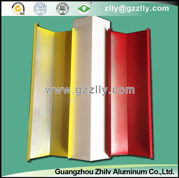Colorful Decoration Material V-Shaped Metal Strip Ceiling
