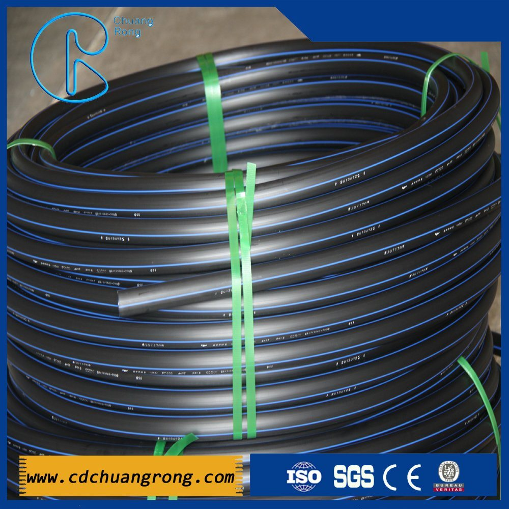 HDPE Plastic Pipe for Water Supply (PE100 or PE80)