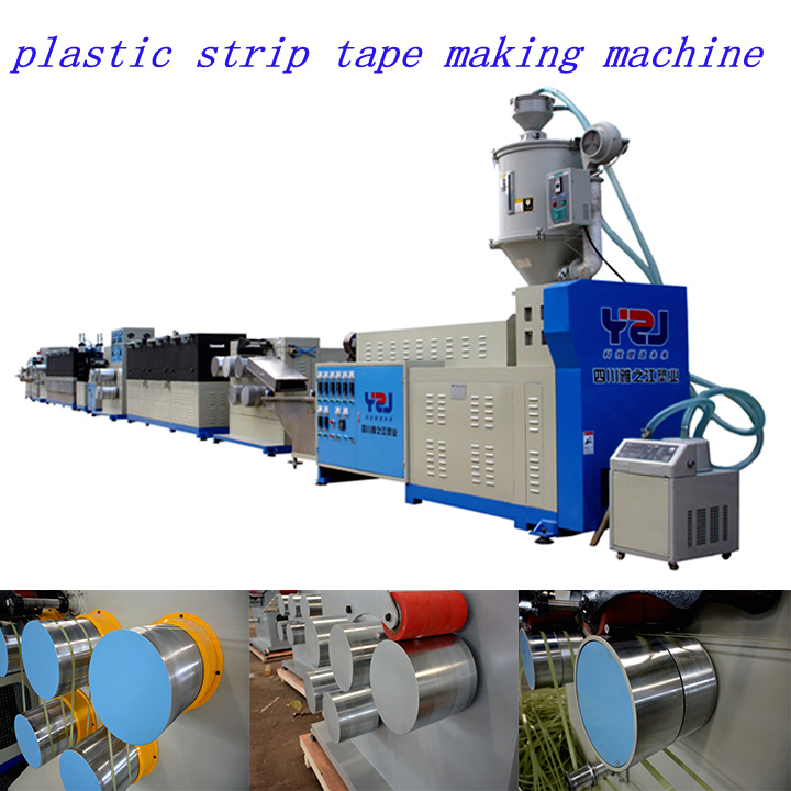 Plastic Recycling Packing Strip Making Machine