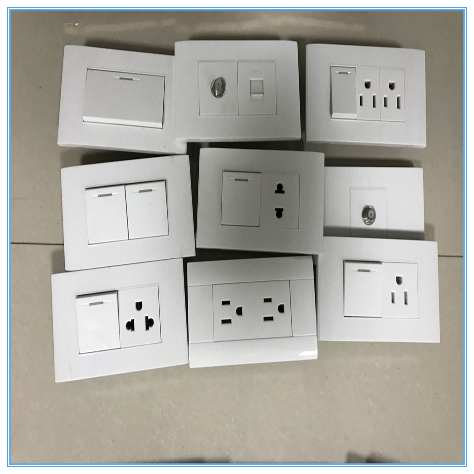 South America Wall Switch/118 Type Wall Switch