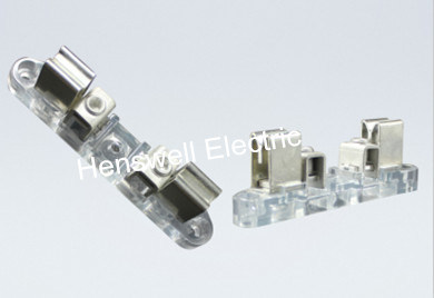 100A Round Meter Base of Clear PC Block