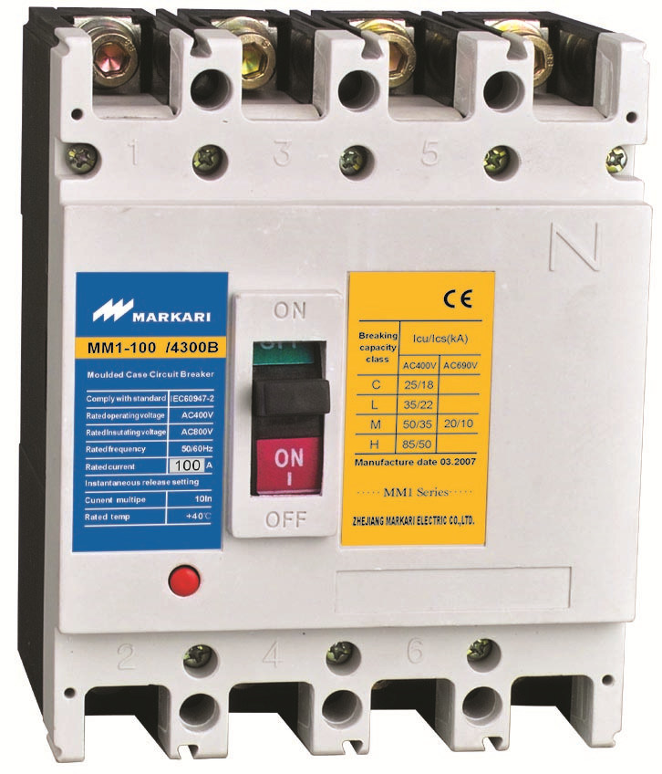 Mould Case Circuit Breaker (NF) (MM1-225L-4300)