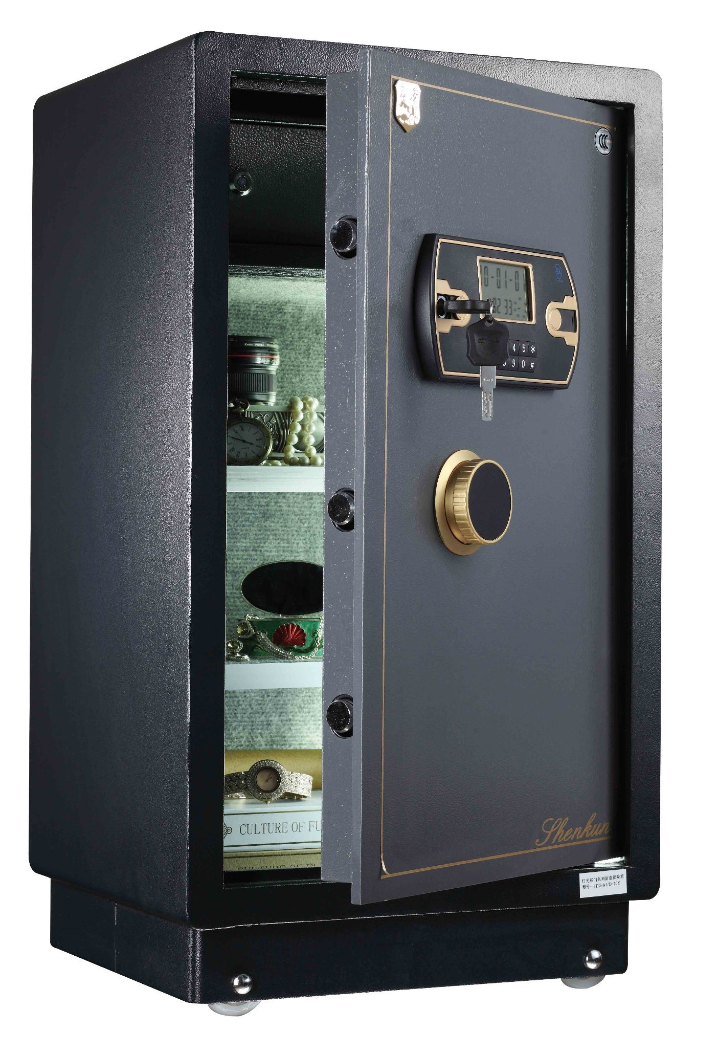 Security Home Safe Box with Digital Lock- Zhizun Black Series