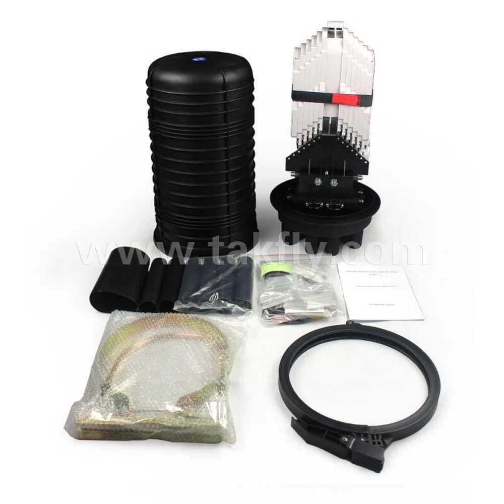 288 Cores Vertical Outdoor Waterproof Fiber Optic Splice Closure